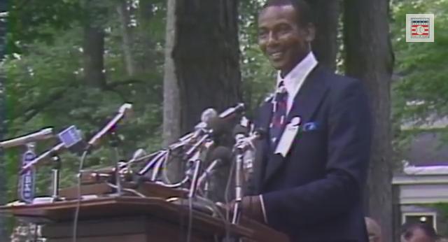 Ernie Banks 1977 Baseball Hall of Fame Induction Speech