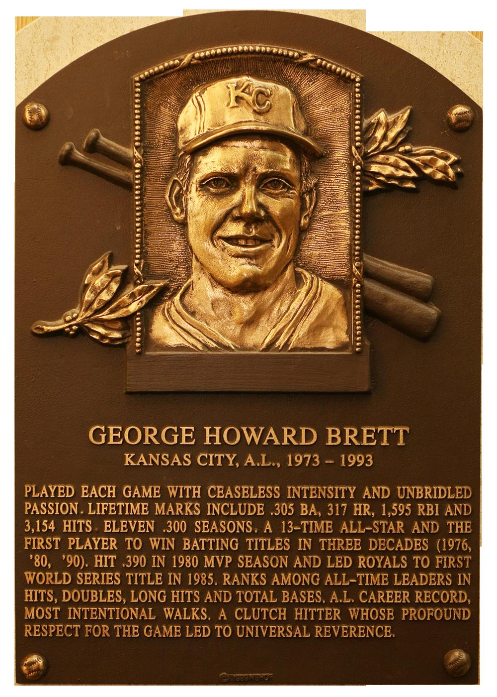 Brett George Baseball Hall Of Fame