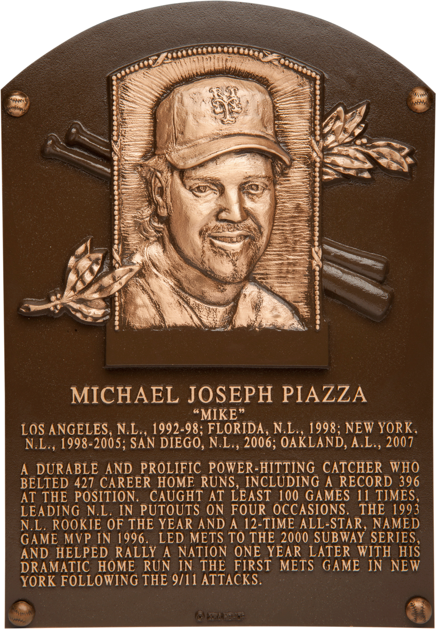 Piazza Mike Baseball Hall Of Fame