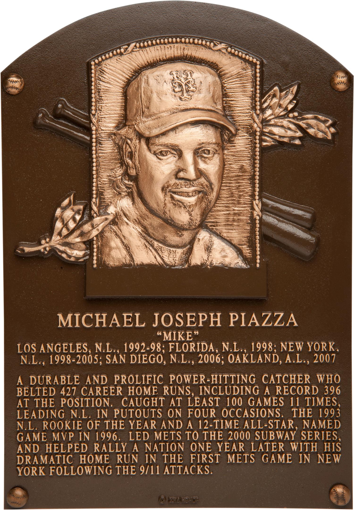 Piazza Mike Baseball Hall Of Fame