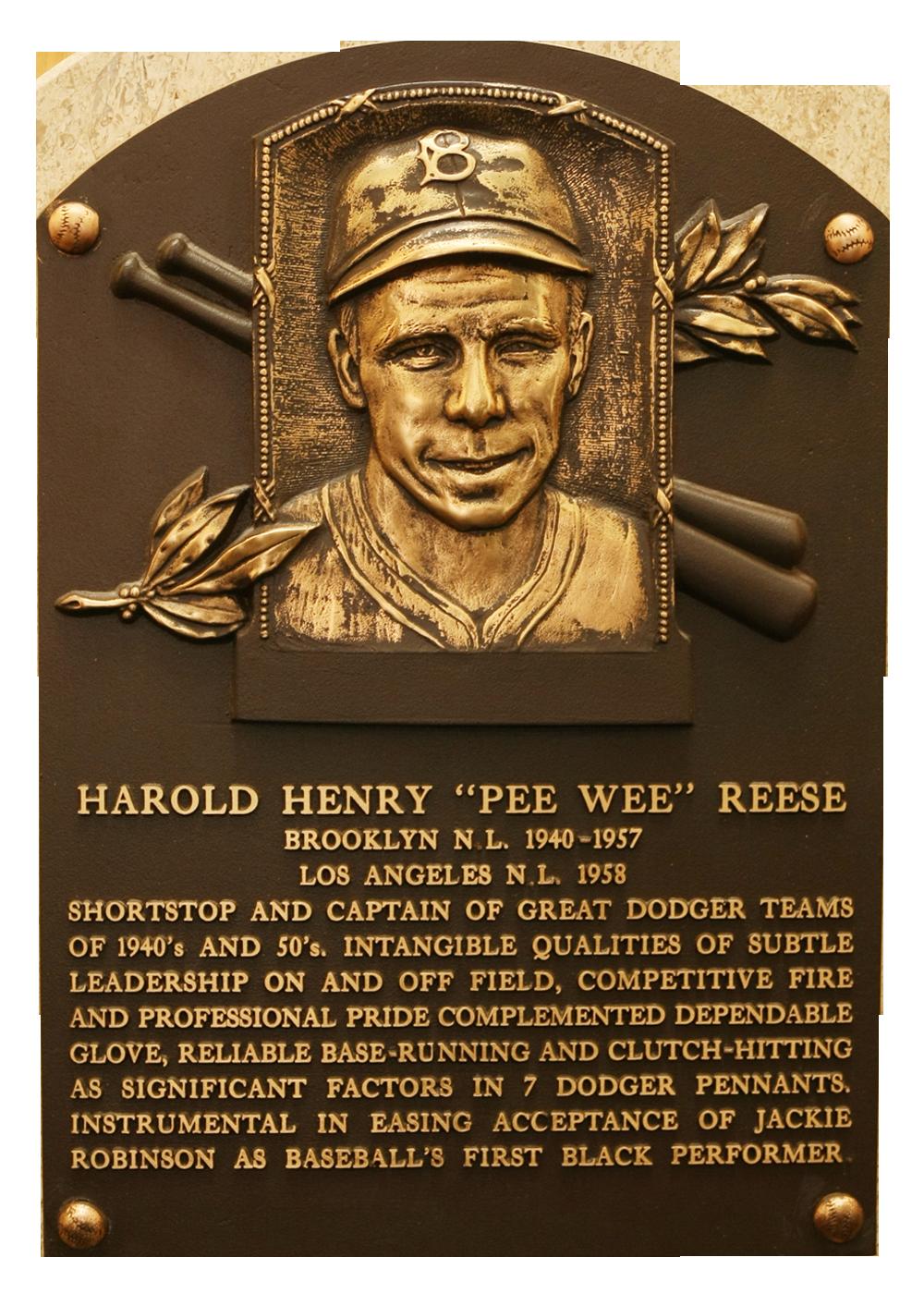 Reese Pee Wee Baseball Hall Of Fame