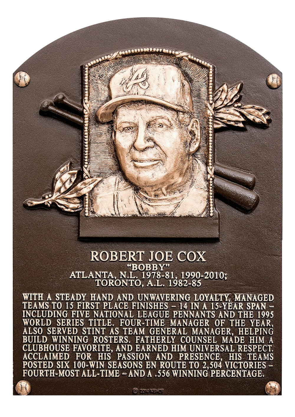 A biography of bobby cox