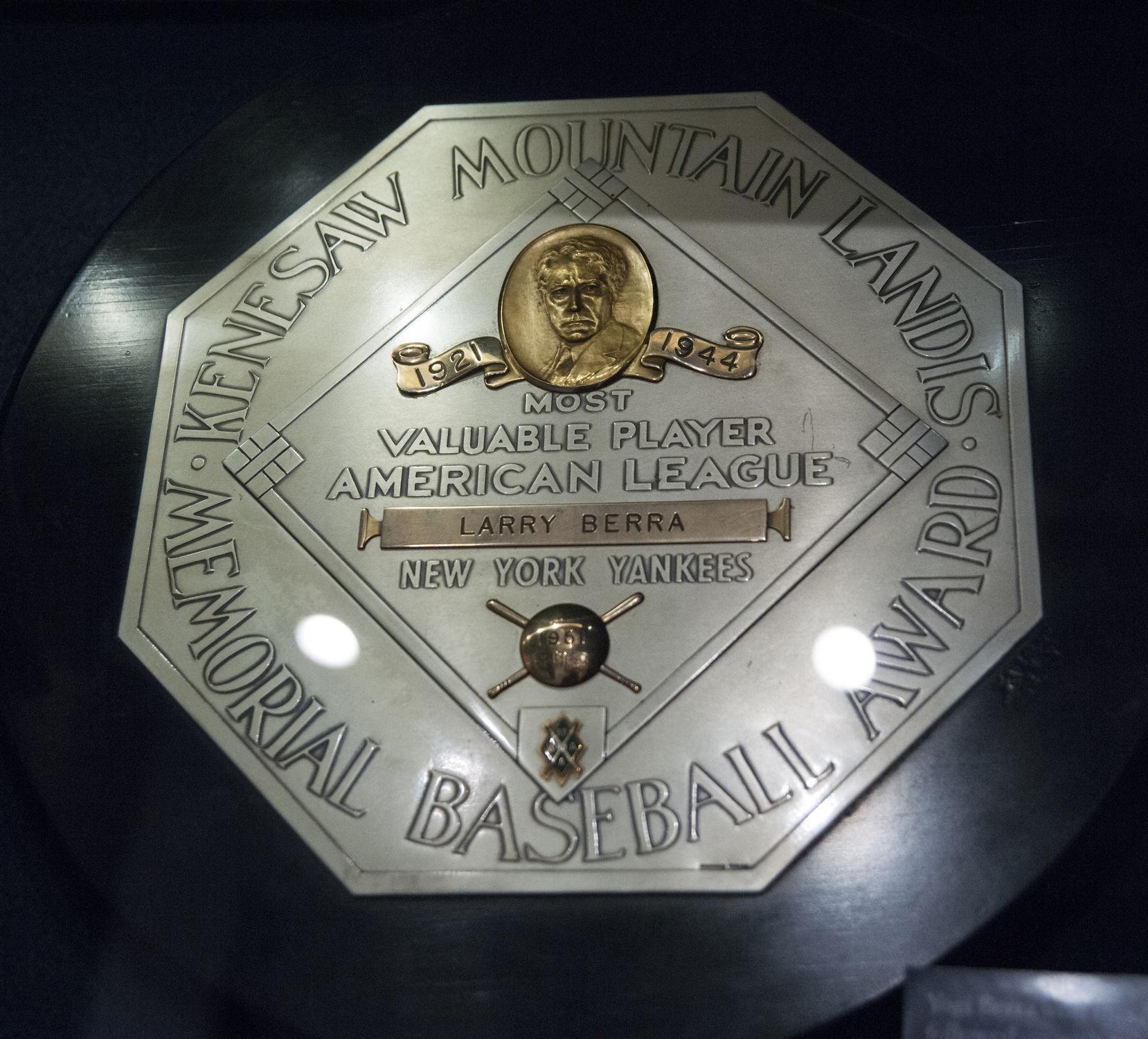 Yogi Berra Donated His 1951 AL MVP Award