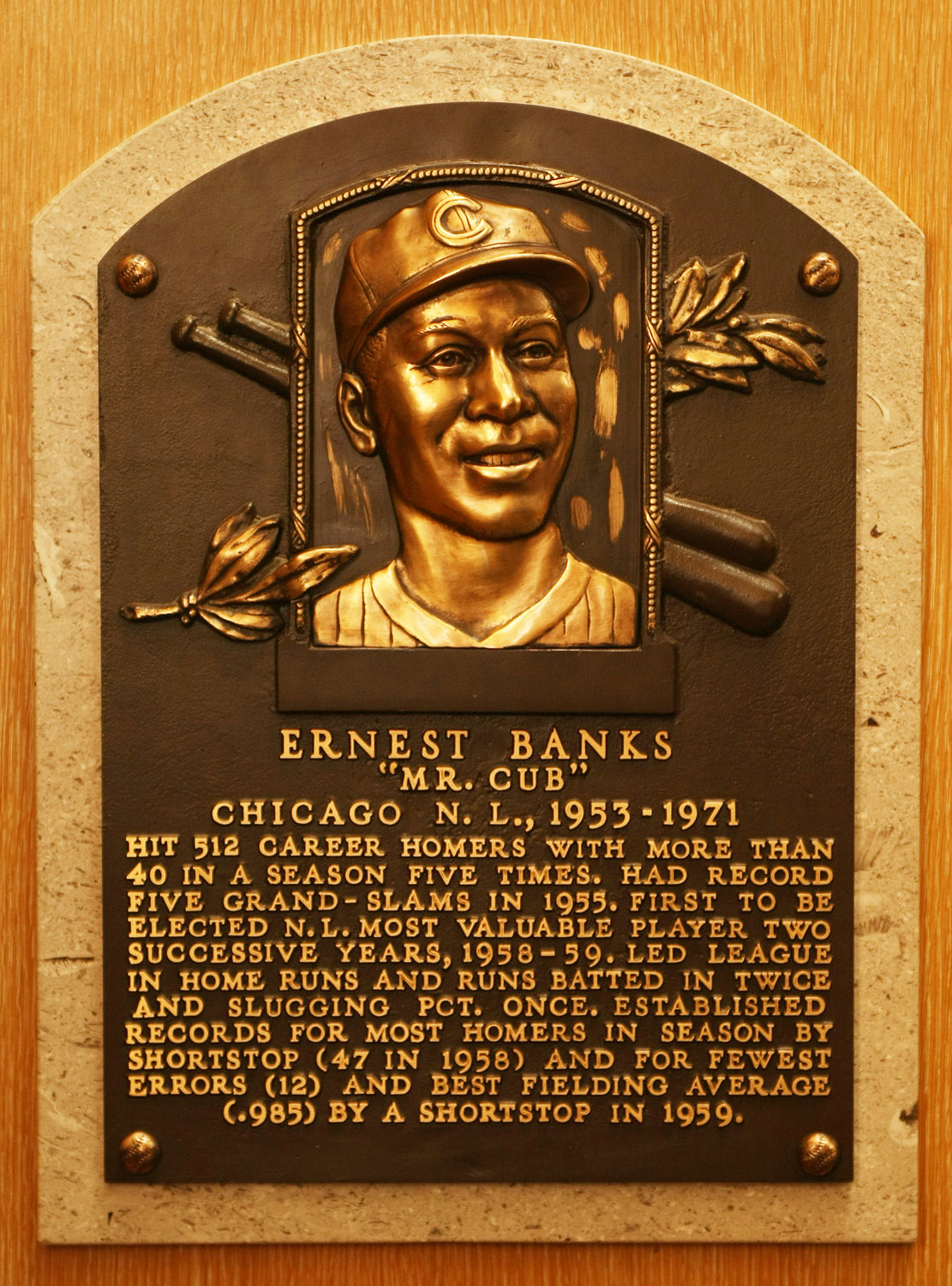 Image result for ernie banks hall of fame
