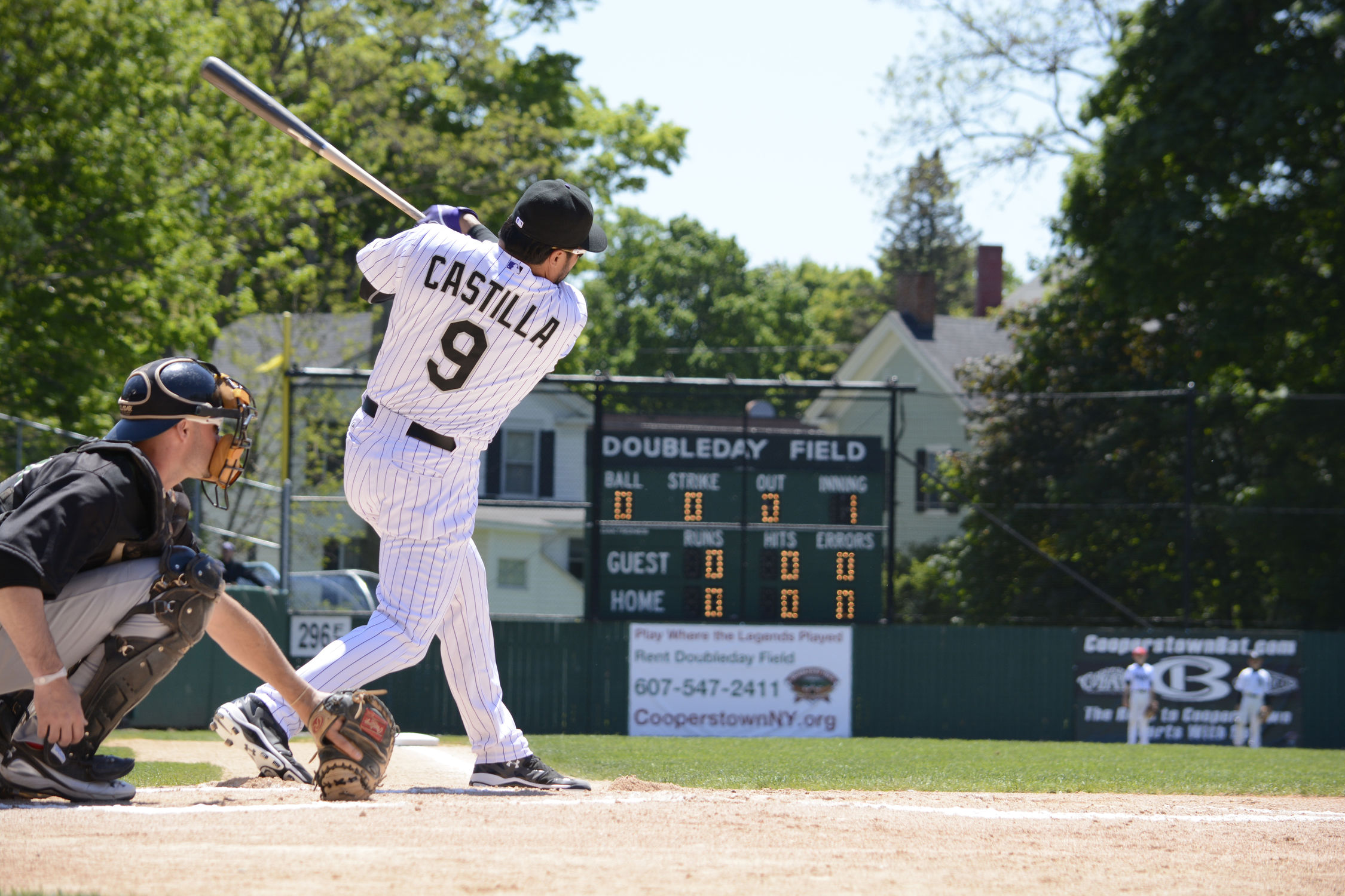 History Of Doubleday Field Baseball Hall Of Fame