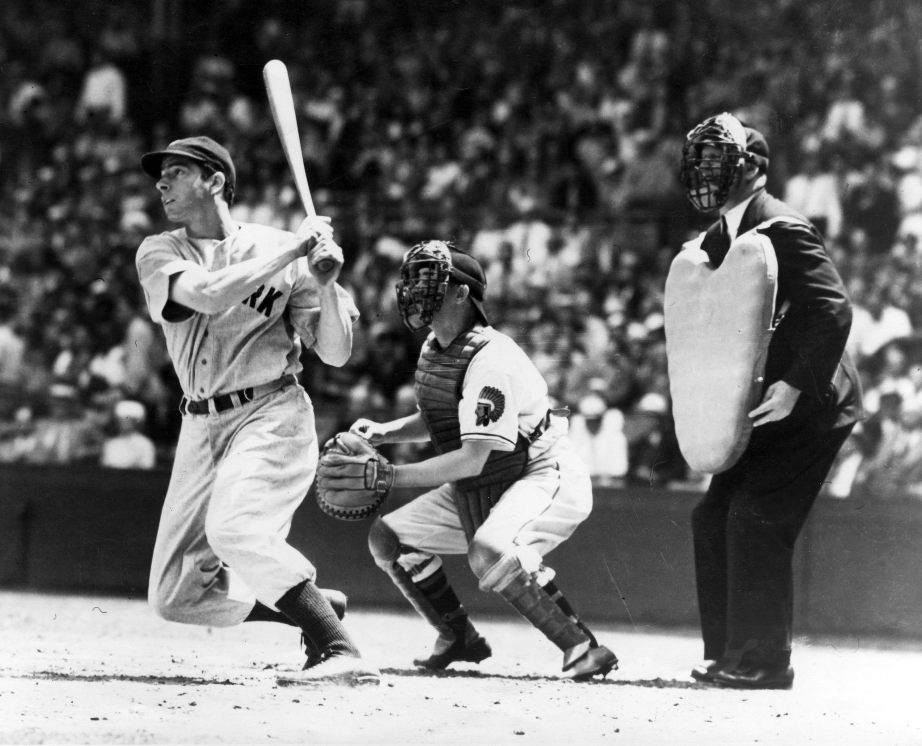DiMaggio singles to start hitting streak   Baseball Hall ...