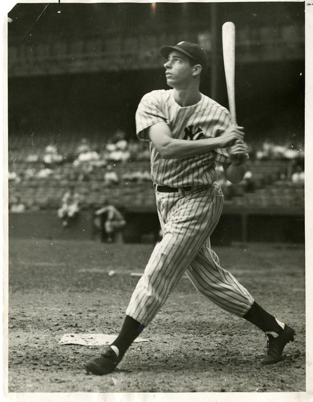 Image result for 1936: Joe DiMaggio debuts