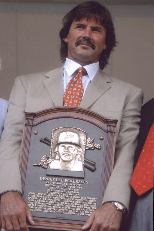 Eckersley, Dennis   Baseball Hall of Fame