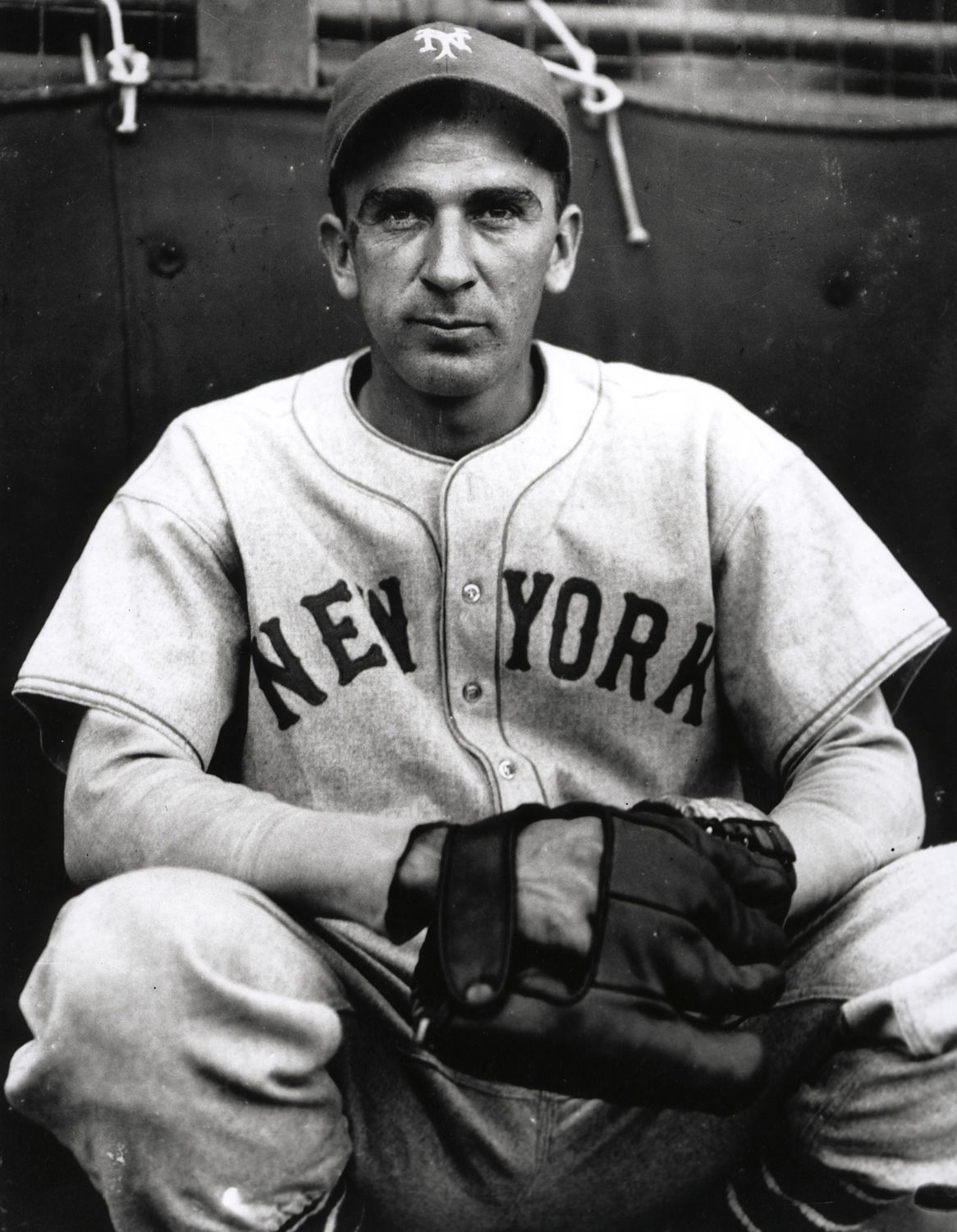 Carl Hubbell Played On The New York Giants For His Entire 16 Year Big League Career National Baseball Hall Of Fame And Museum