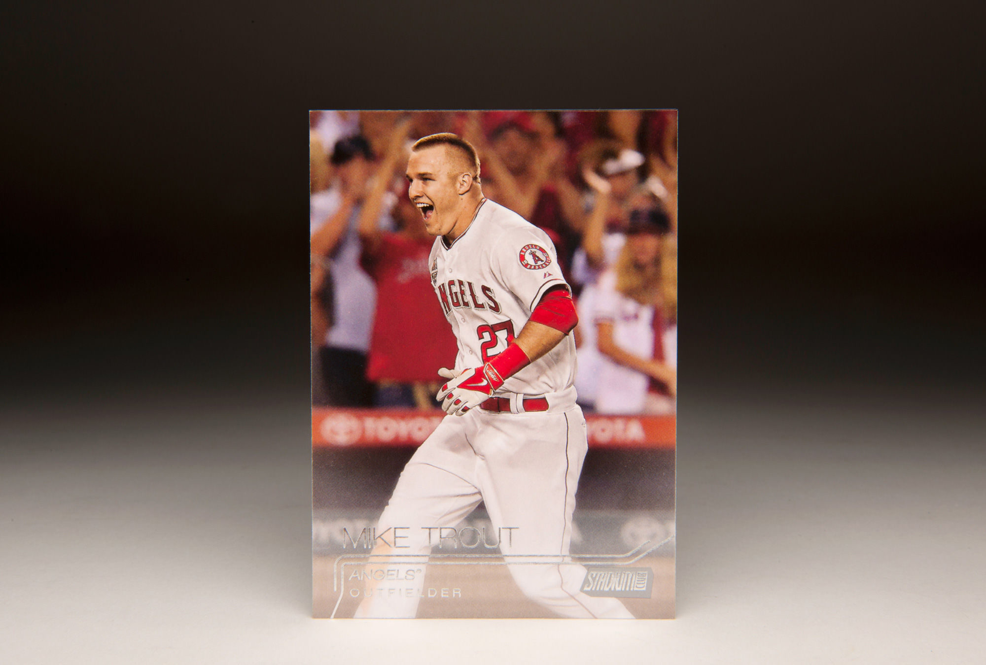Cardcorner 2015 Topps Mike Trout Baseball Hall Of Fame