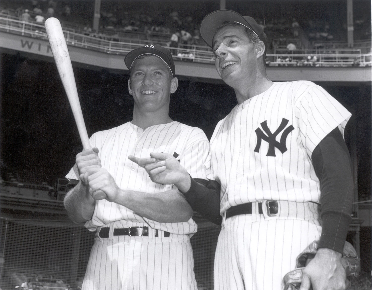 mickey mantle I was a small child when mickey mantle won the american league triple crown in  1956 he was one of my heroes growing up, and i read all the stories and.