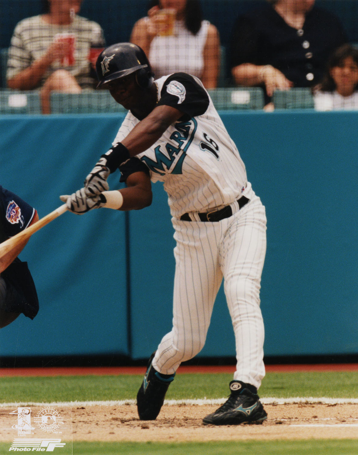 6fc841d43 Édgar Rentería of the Florida Marlins batting in 1997. (National Baseball  Hall of Fame)