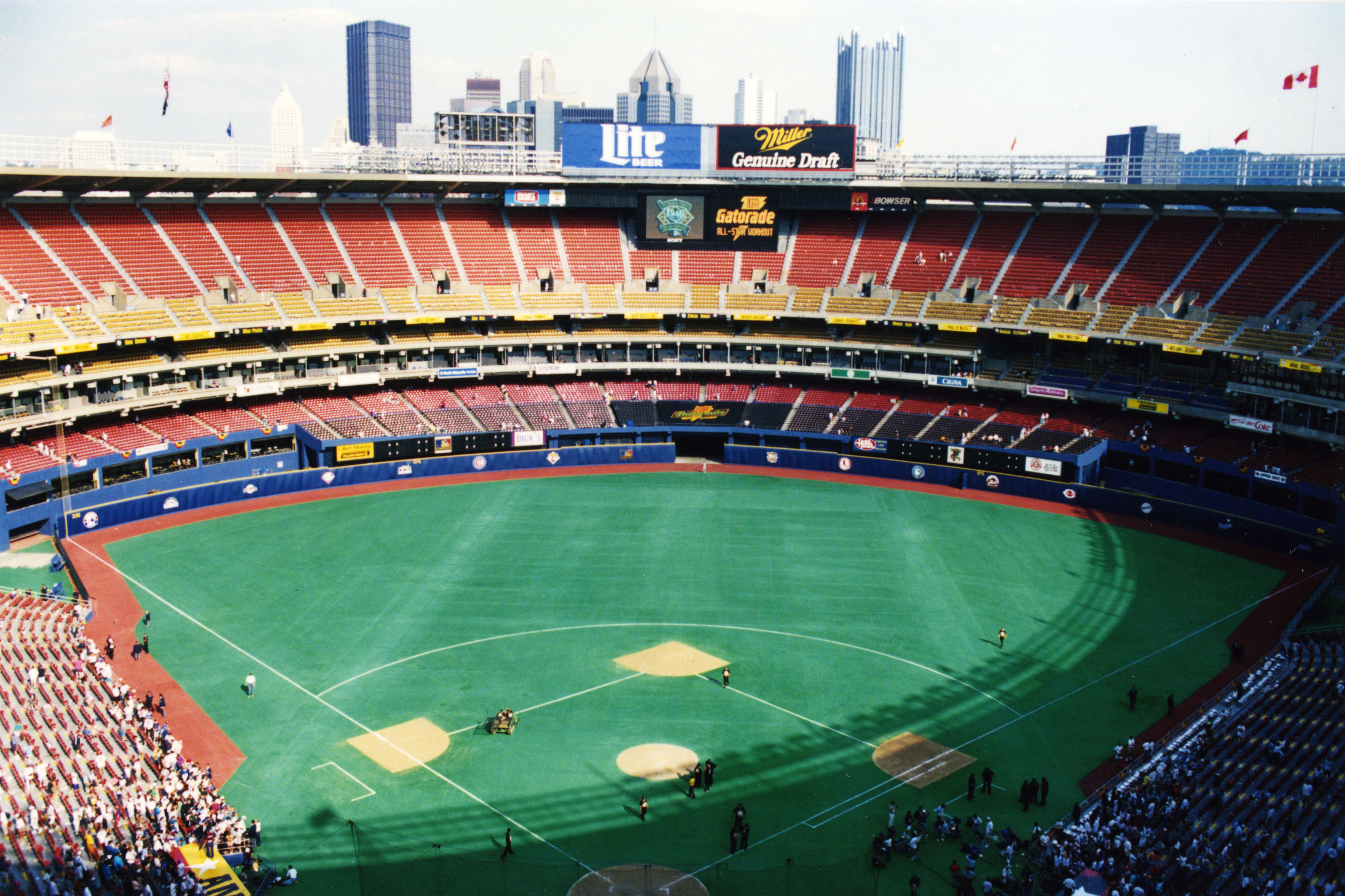 ballparks of the 1990s sports marketing The 1990s marked the continued growing influence of money on baseball,  as  well as criticism in some circles that only the big-market teams  part of this was  due to the inauguration of a number of new hitter-friendly ballparks, most  that  baseball was an official medal sport the two tournaments in the.