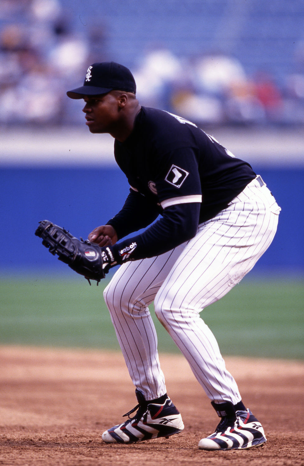 Vintage Frank Thomas returns after signing with Athletics ...