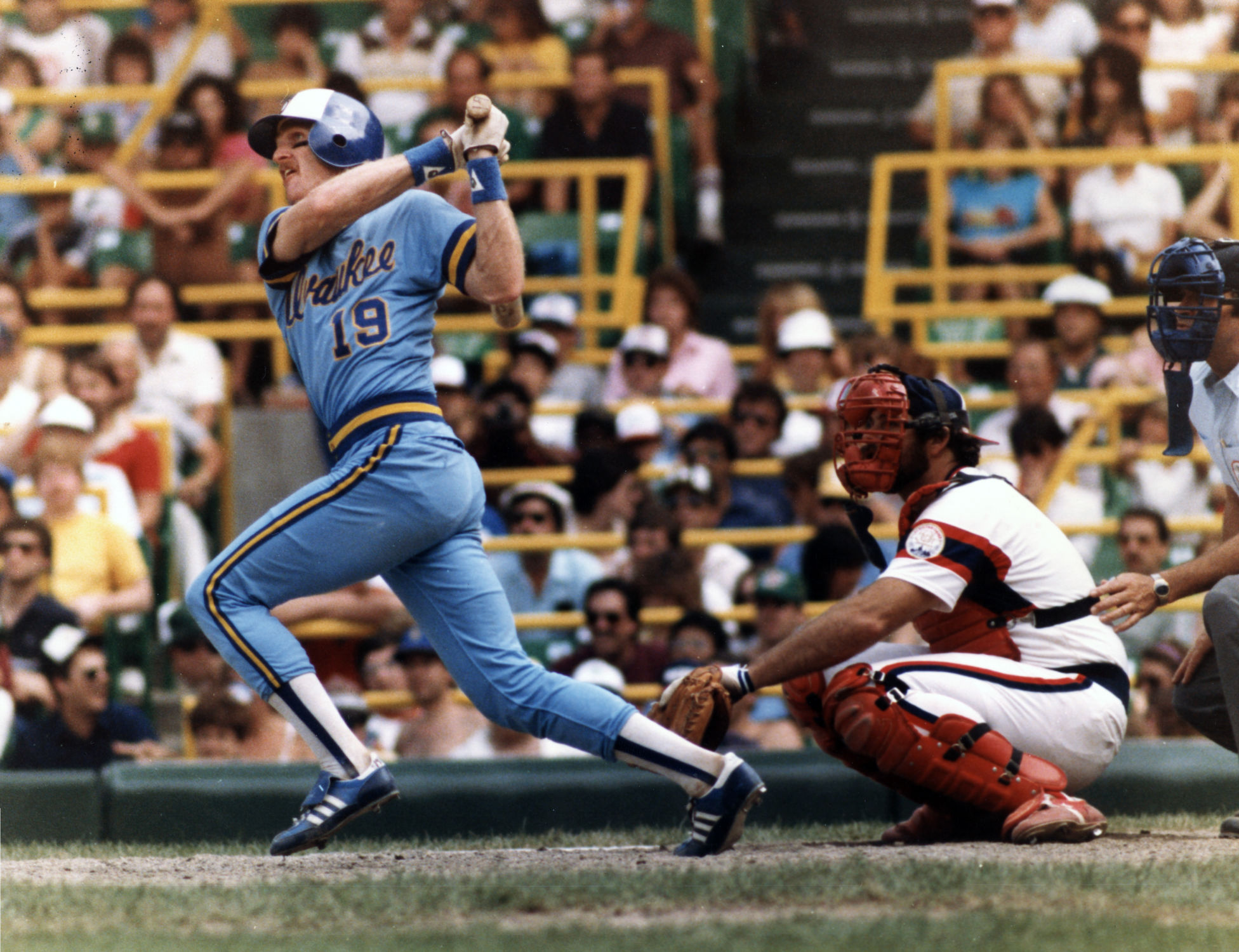 Robin Yount named AL Most Valuable Player   Baseball Hall of Fame