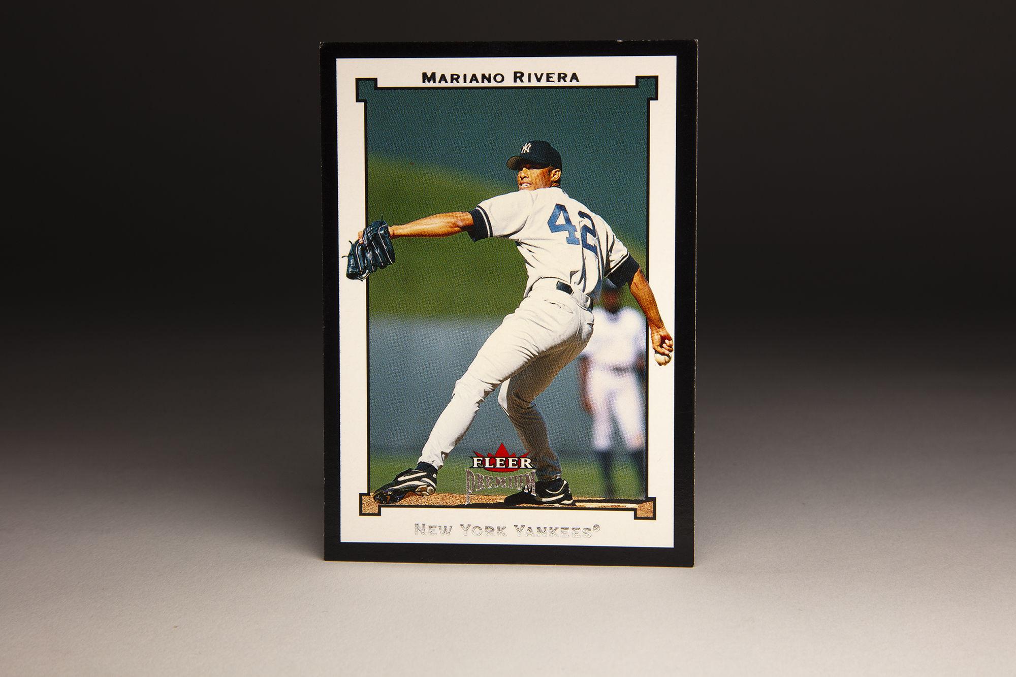 Cardcorner 2002 Fleer Premium Mariano Rivera Baseball