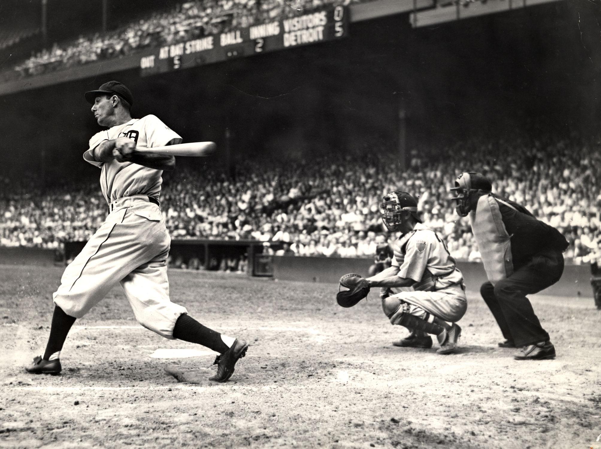 pretty nice da1b1 784f9 Greenberg, Hank   Baseball Hall of Fame