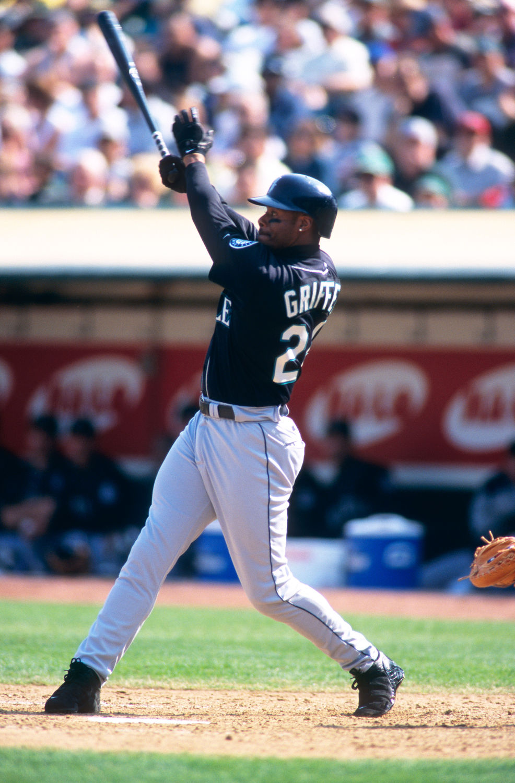 Ken Griffey Jr Game Used Home Run Bat