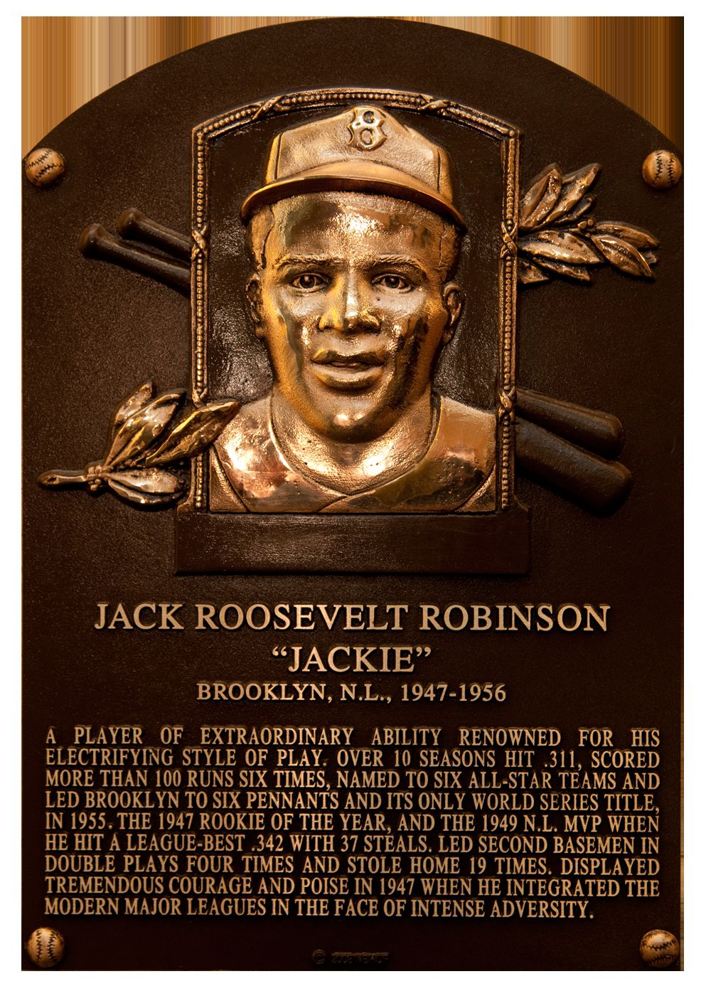 Most Famous Quotes In History Remembering Jackie  Baseball Hall Of Fame
