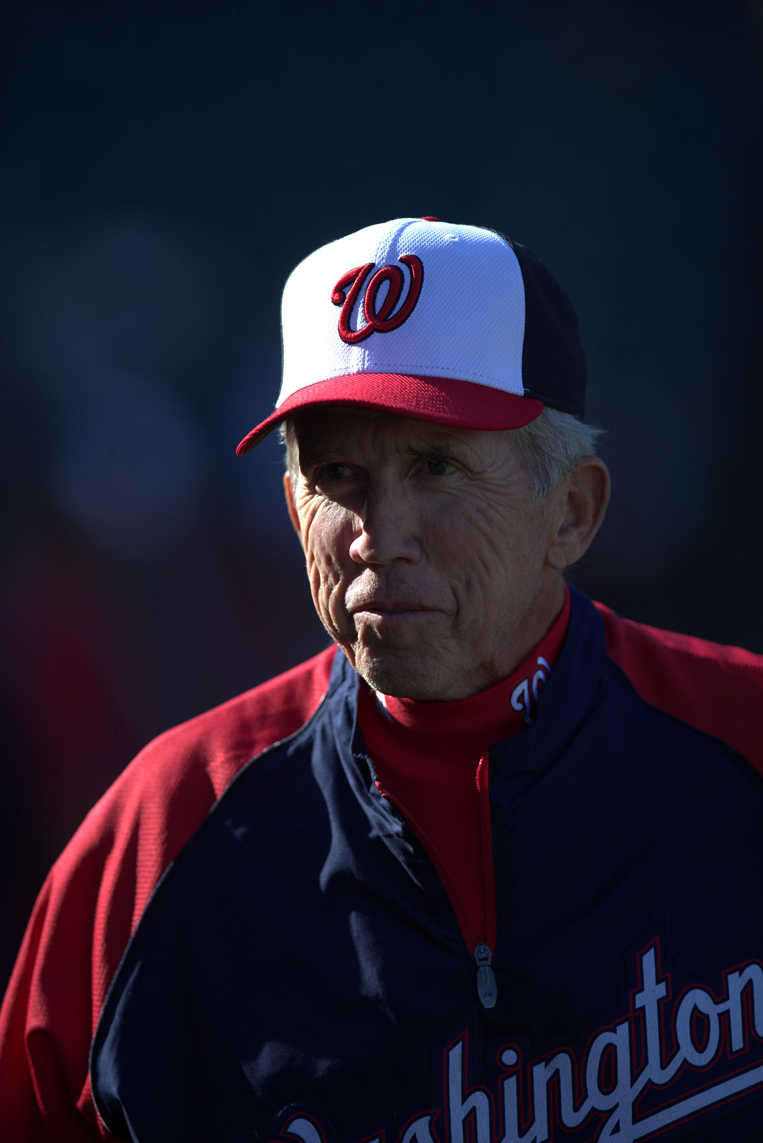 Davey Johnson was manager of the Nationals from 2011-2013. (Brad Mangin / National Baseball Hall of Fame)