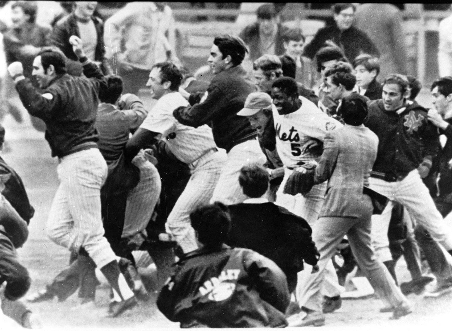 Tommie Agee was a part of the New York Mets team that won the World Series in 1969. (National Baseball Hall of Fame and Museum)