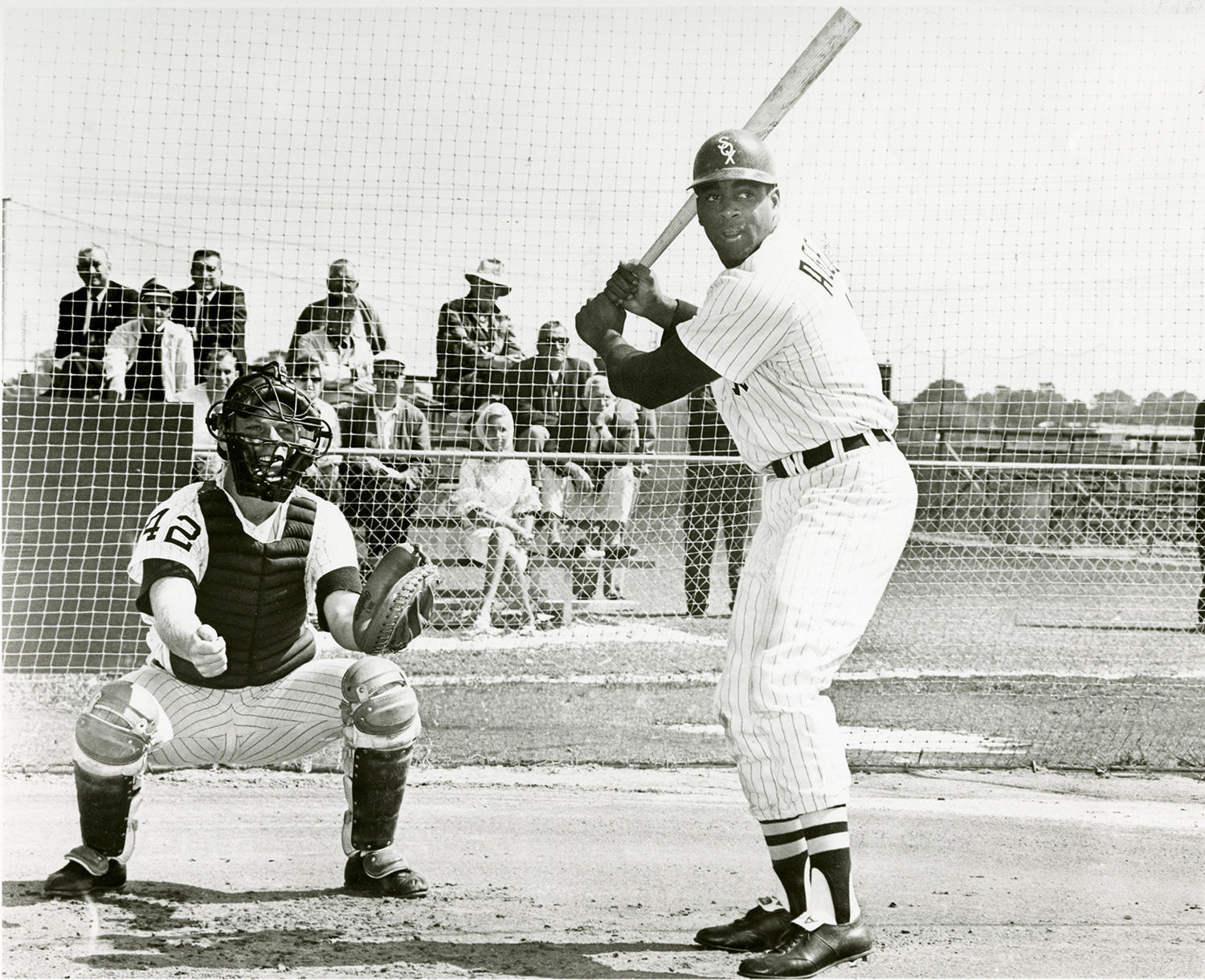 Tommie Agee played for Chicago White Sox from 1965-67. (National Baseball Hall of Fame and Museum)