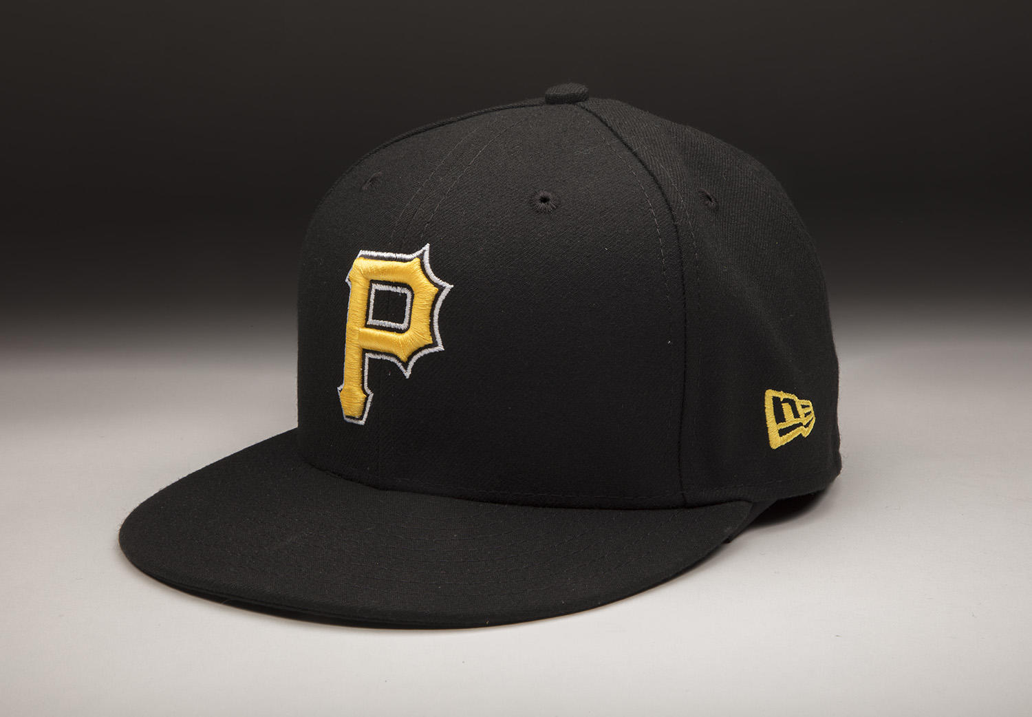 """Dovydas Neverauskas donated this cap to the Hall of Fame after his major league debut on April 24, 2017. <a href=""""http://collection.baseballhall.org/islandora/object/islandora%3A538856"""">PASTIME</a> (Milo Stewart Jr. / National Baseball Hall of Fame and Museum)"""