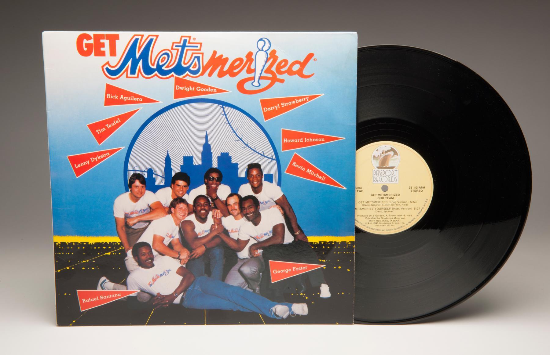 "A 1986 ""Get Metsmerized"" album. B-114-2016 (Milo Stewart Jr. / National Baseball Hall of Fame)"
