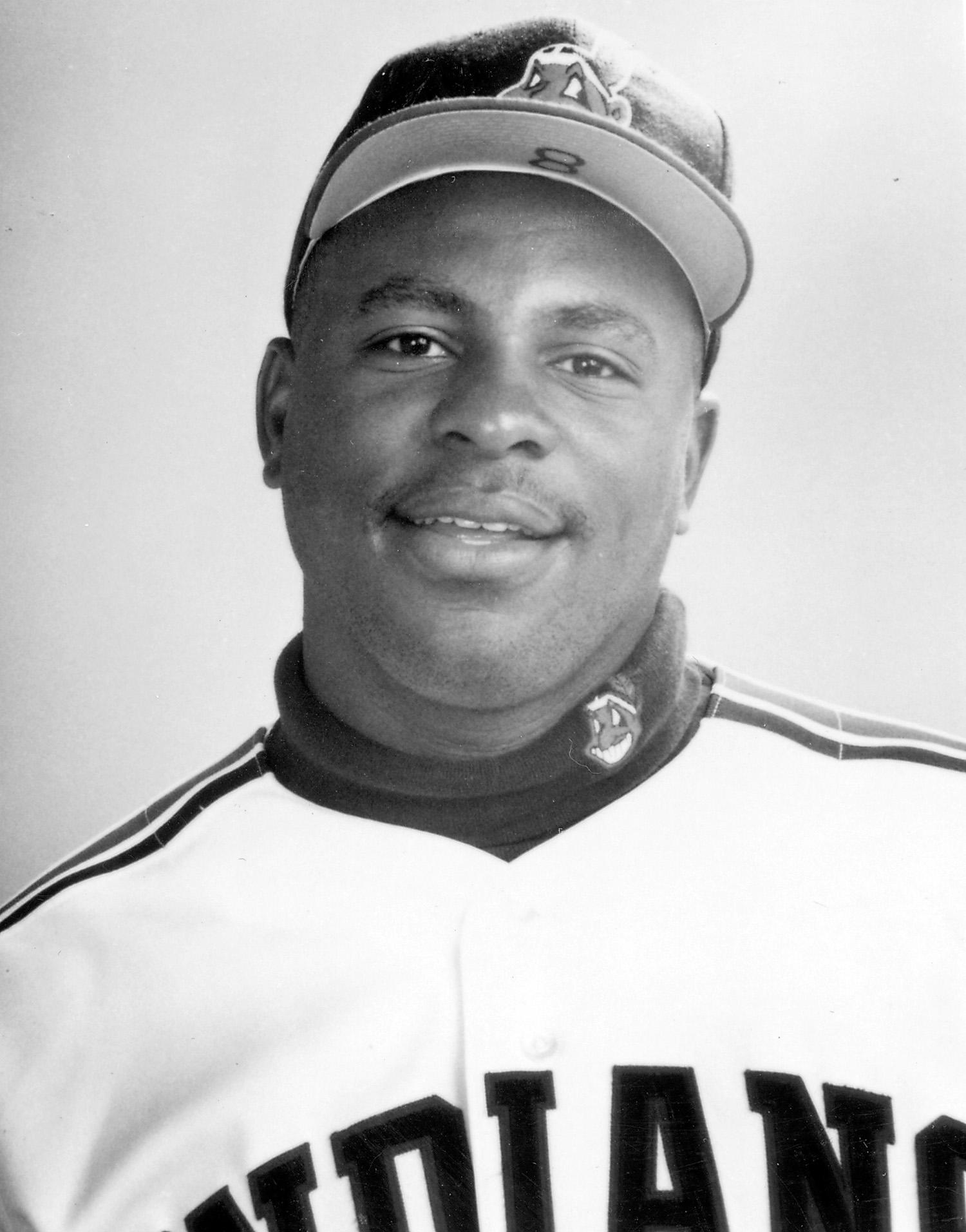 Albert Belle was taken by the Cleveland Indians in the second round of the 1987 MLB Draft and quickly rose through their system, debuting in the big leagues in 1989. (National Baseball Hall of Fame)
