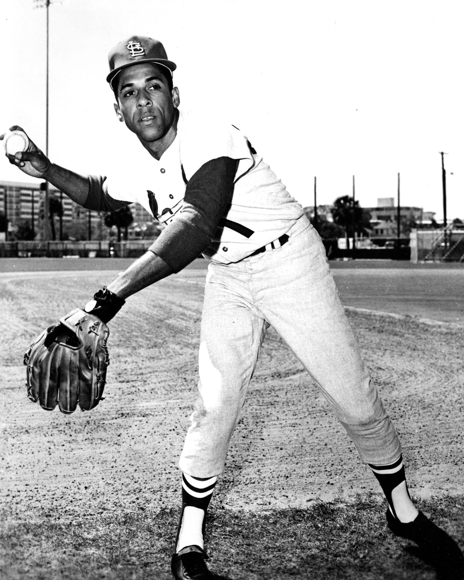José Cardenal played for the Cardinals from 1970-1971. (National Baseball Hall of Fame)