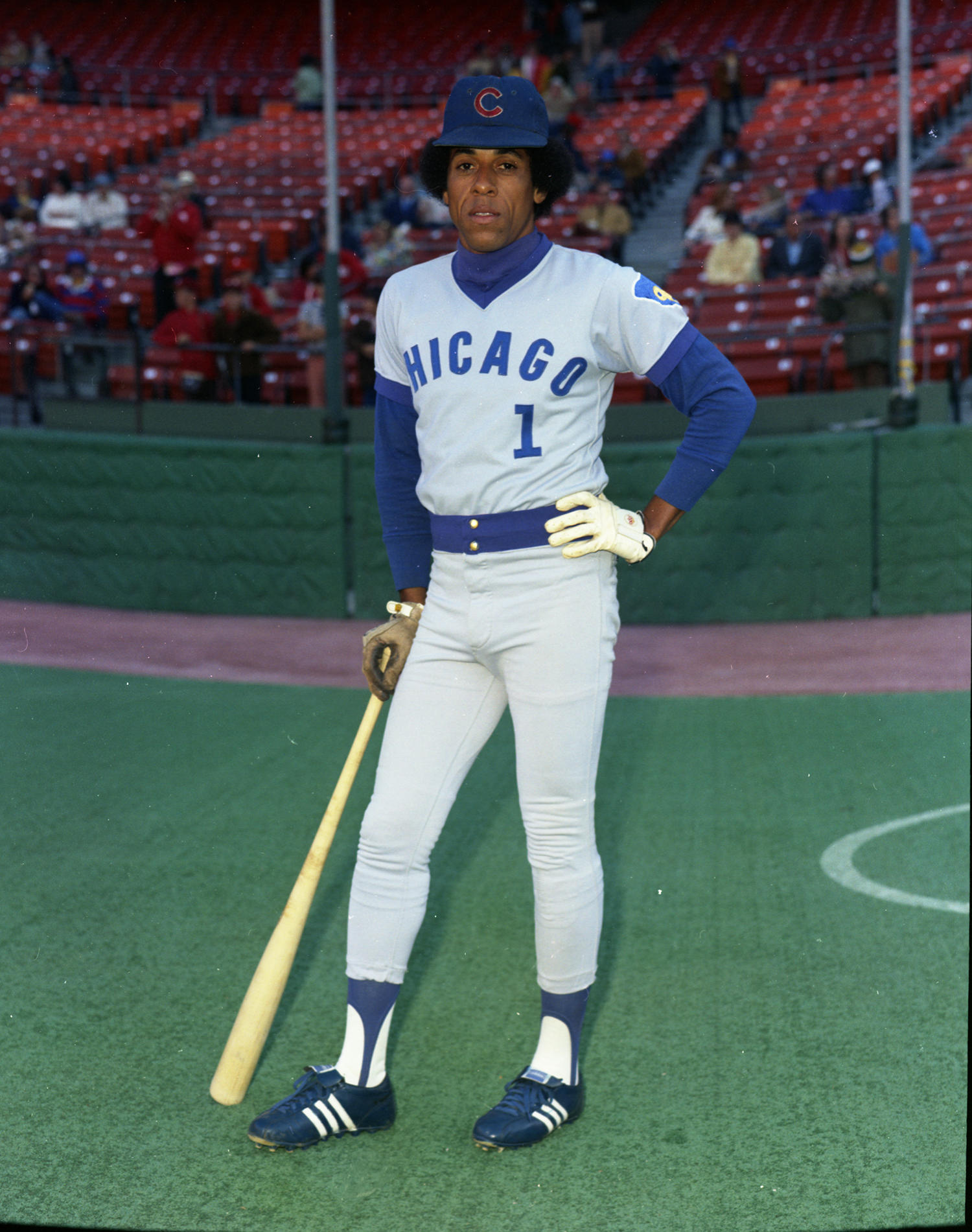 José Cardenal played for the Chicago Cubs for six seasons until he was traded to the Phillies following the 1977 season. (Doug McWilliams / National Baseball Hall of Fame)