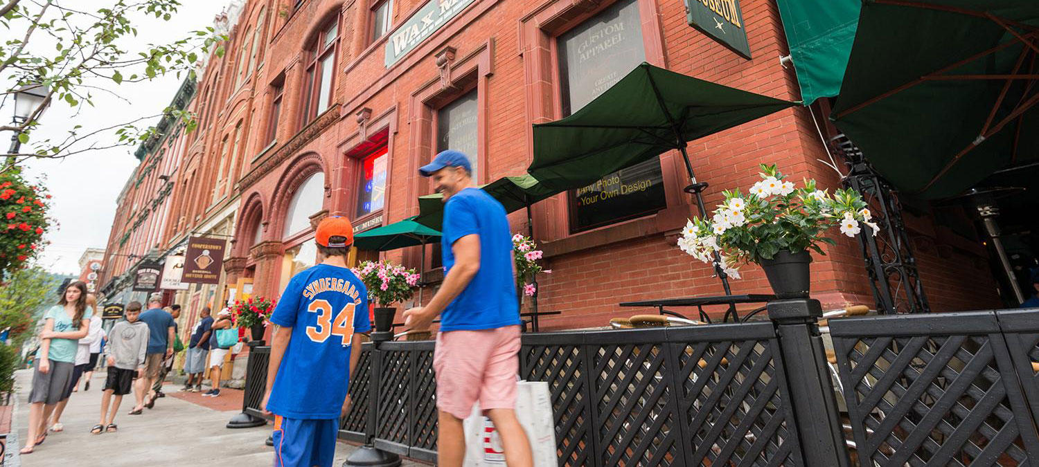 Take a walk down Main Street, USA. (Cooperstown/Otsego County Tourism)