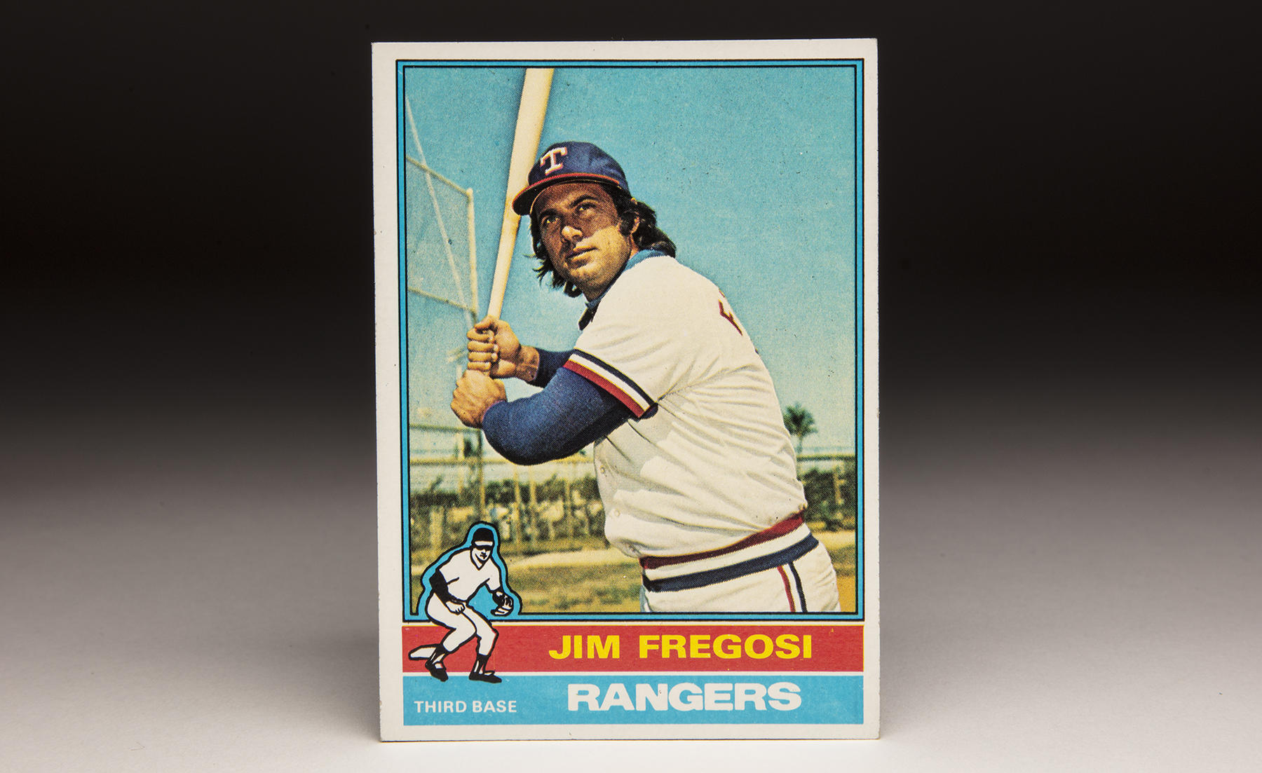 By the time his 1976 Topps card arrived, Jim Fregosi had played 15 big league seasons and been named to six All-Star Games. (Milo Stewart Jr./National Baseball Hall of Fame and Museum)