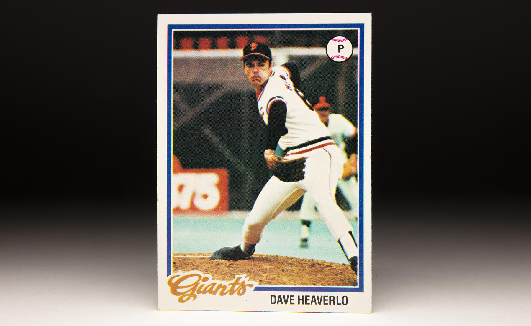 Dave Heaverlo's 1978 Topps card features his distinctive sidearm delivery shot from the third base dugout at Candlestick Park. (Milo Stewart Jr./National Baseball Hall of Fame and Museum)