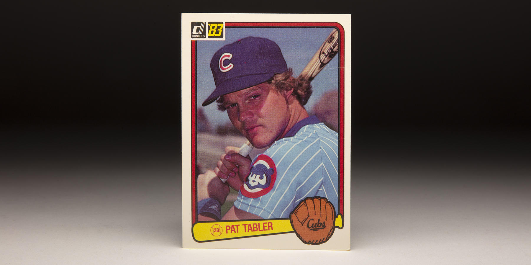 Pat Tabler's 1983 Donruss card featured the distinctive blue uniforms of the Cubs of that era. (Milo Stewart Jr./National Baseball Hall of Fame and Museum)