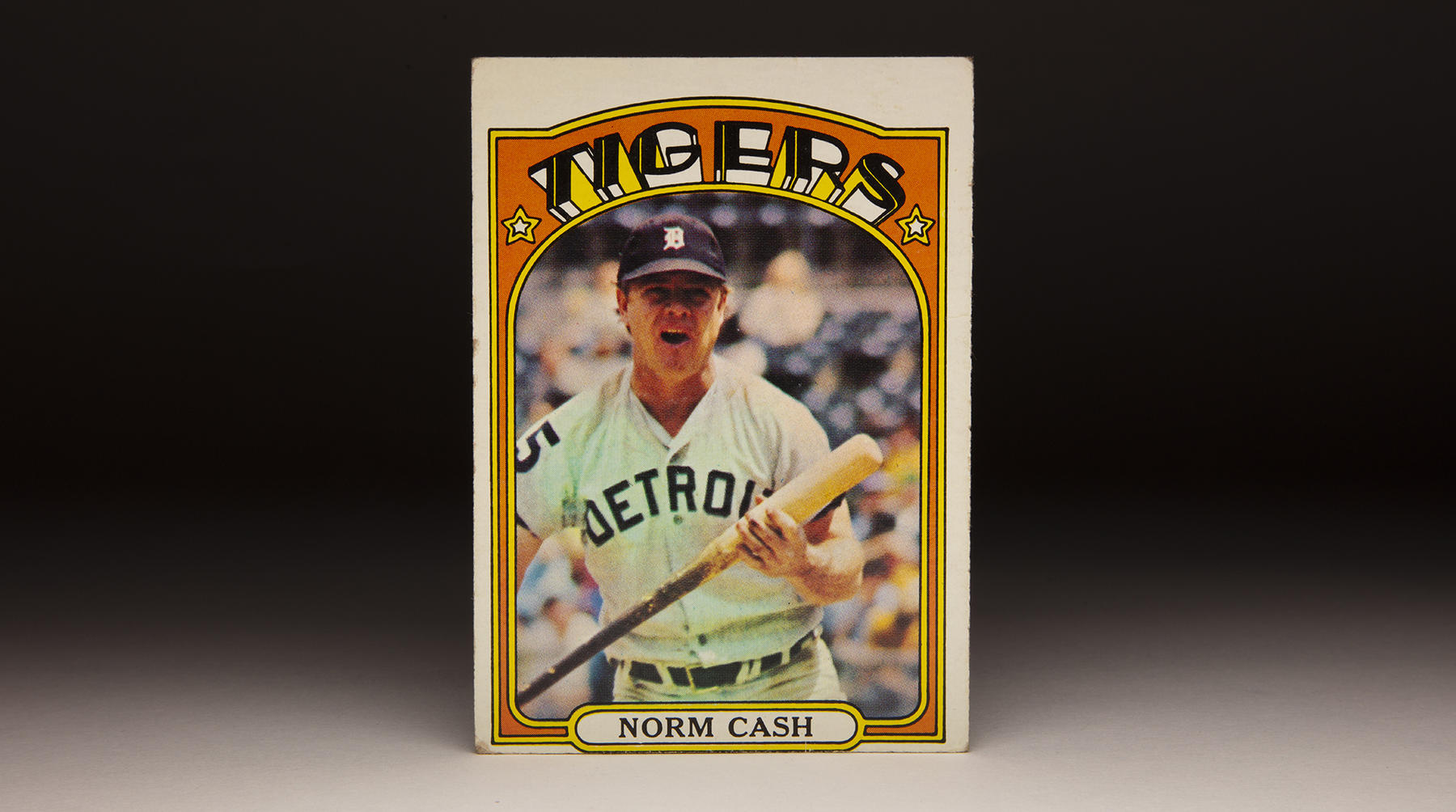 Norm Cash helped form the heart of the Detroit Tigers' lineup for 15 seasons. (Topps baseball card photographed by Milo Stewart Jr./National Baseball Hall of Fame and Museum)