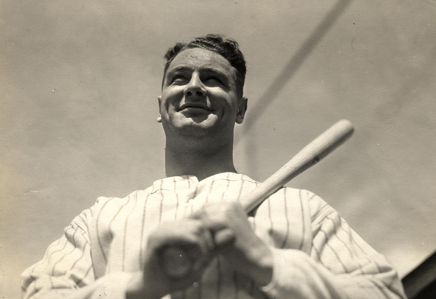 Lou Gehrig played 17 seasons for the New York Yankees, winning seven pennants and six World Series titles before his retirement in 1939. (National Baseball Hall of Fame and Museum)