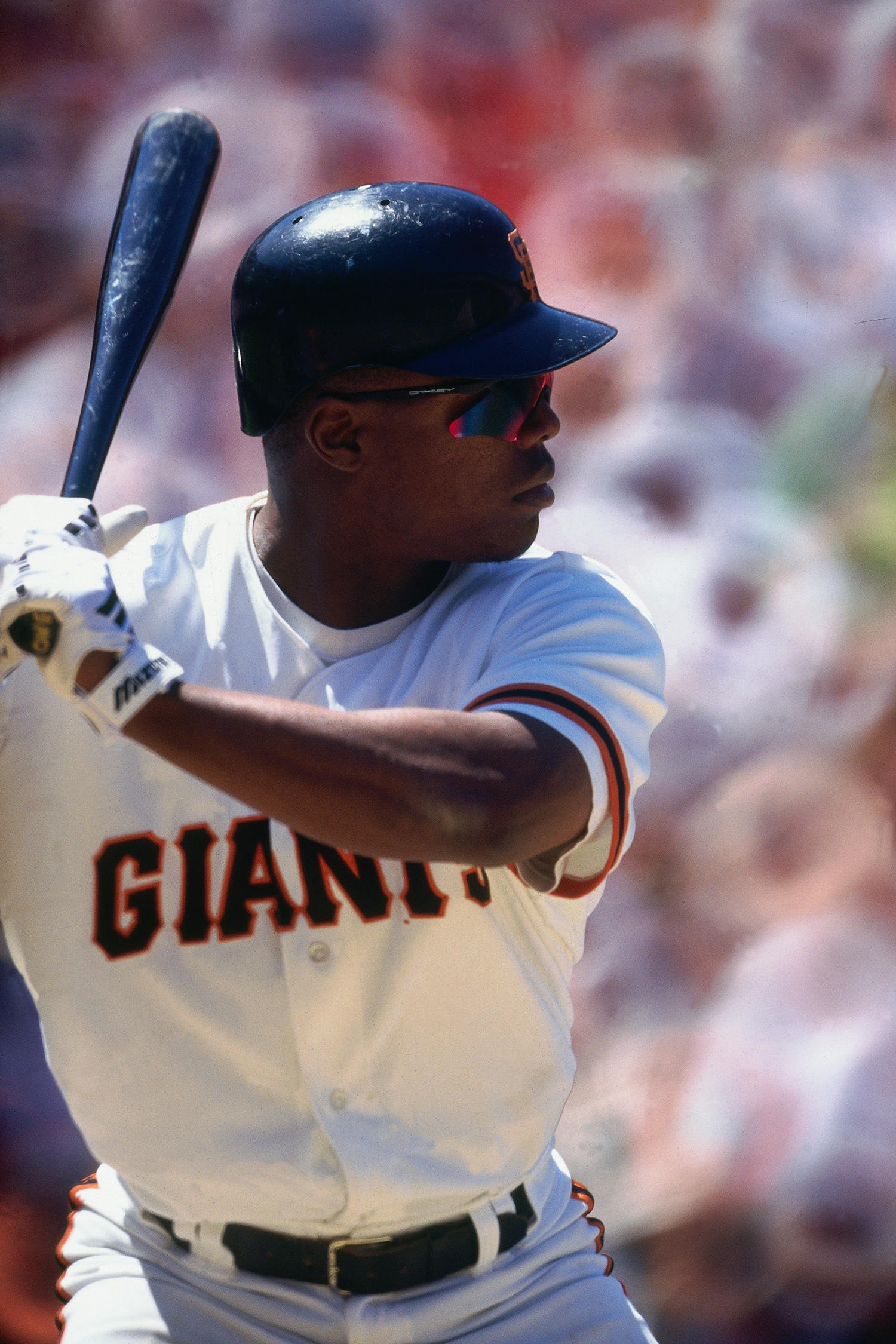 Glenallen Hill played for the San Francisco Giants from 1995-1997. (Brad Mangin / National Baseball Hall of Fame)