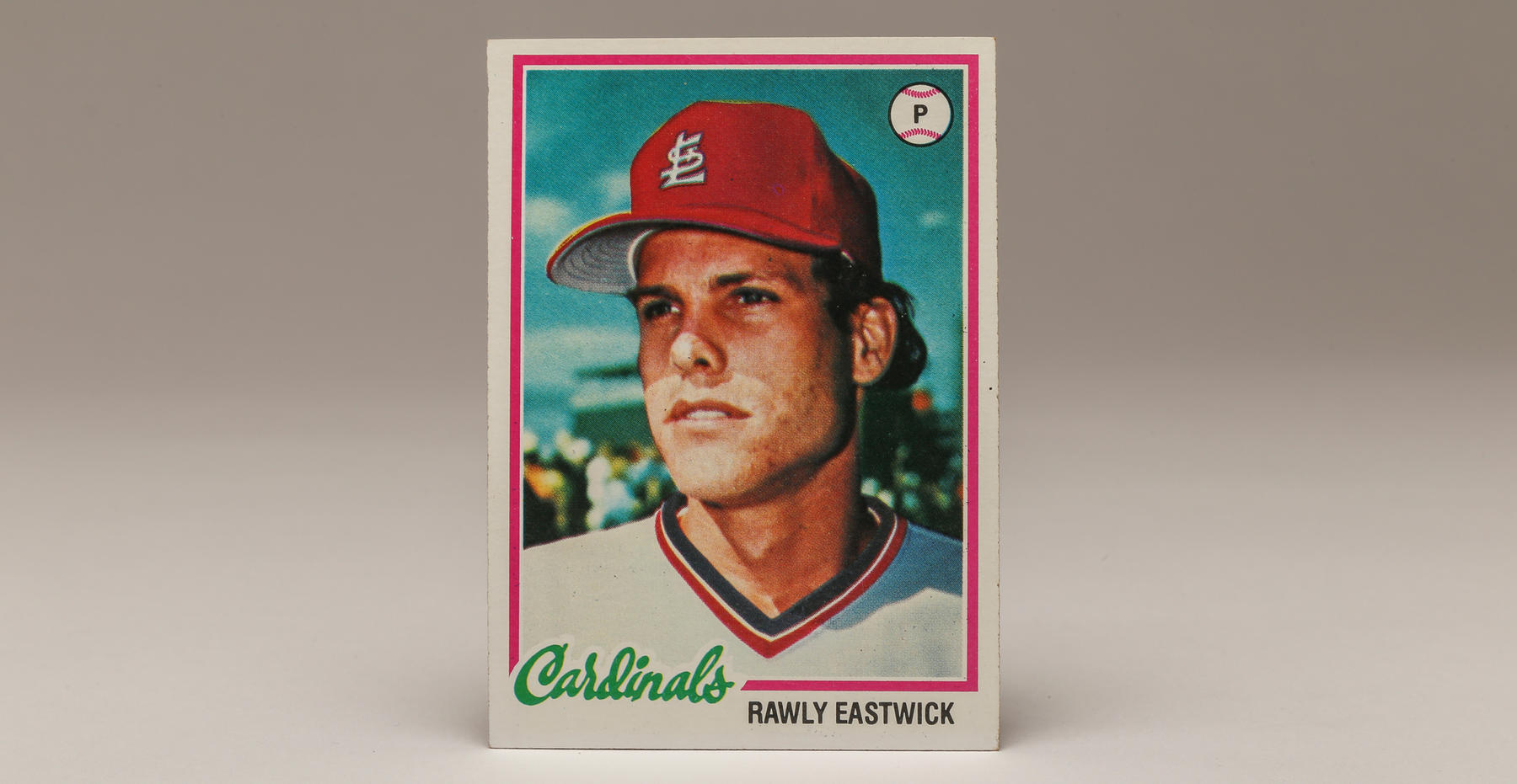 1978 Rawly Eastwick Topps card. (Parker Fish / National Baseball Hall of Fame)