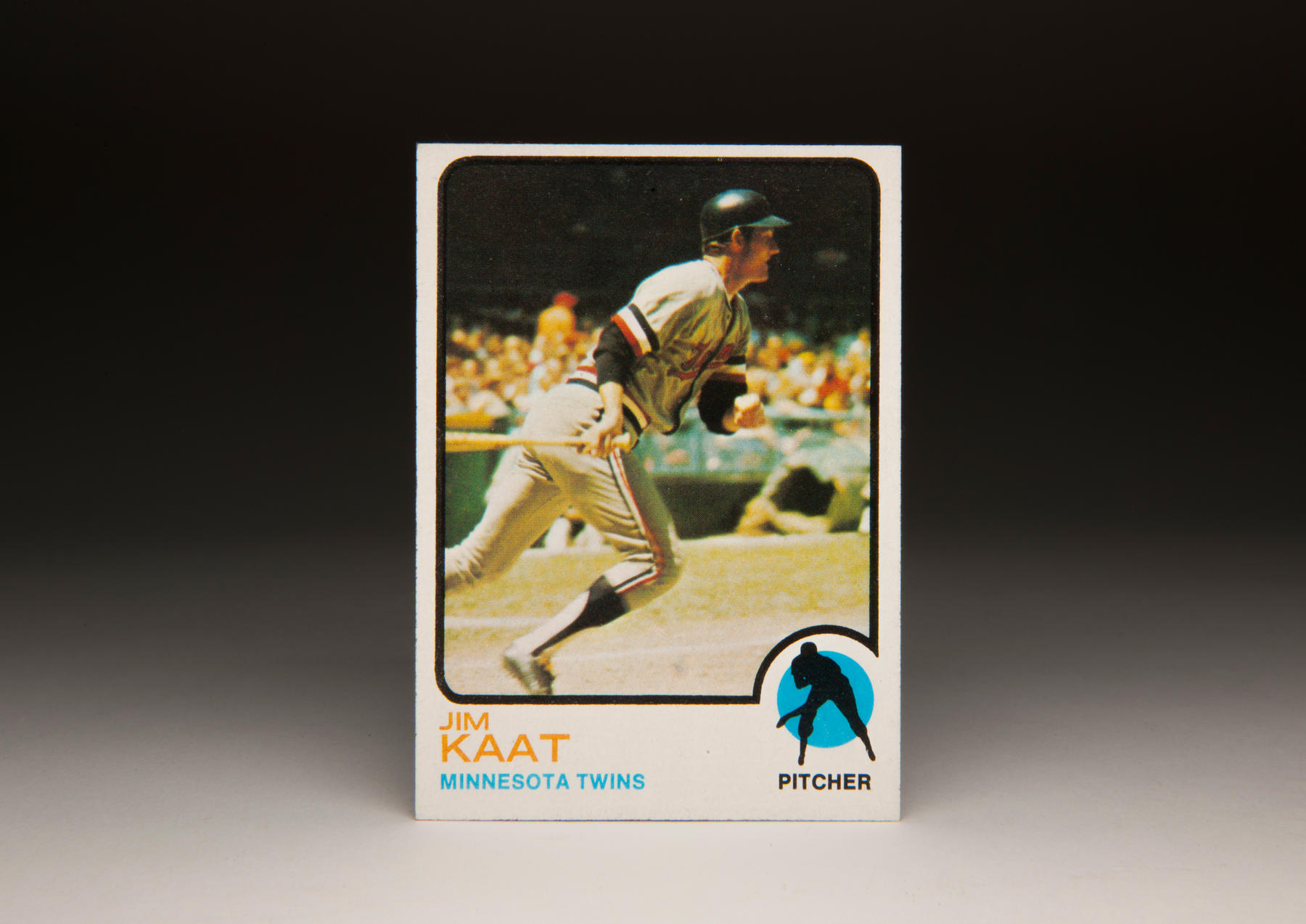 1973 Jim Kaat Topps card. (Milo Stewart Jr. / National Baseball Hall of Fame)