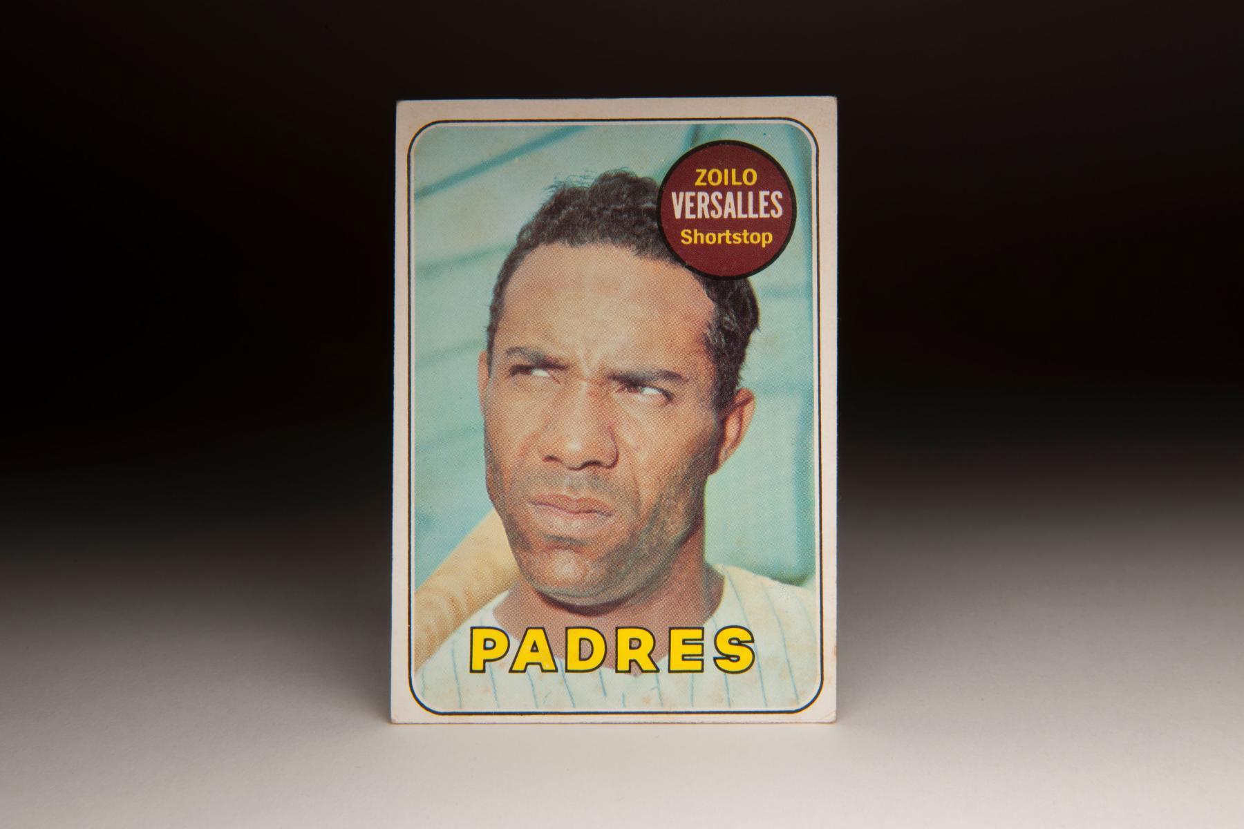 1969 Zoilo Versalles Topps card. (Milo Stewart Jr. / National Baseball Hall of Fame)