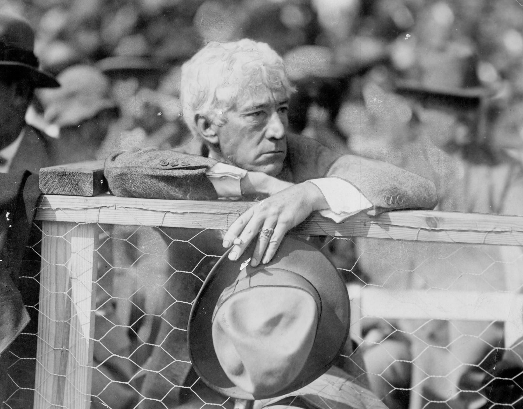 Kenesaw Mountain Landis at 1927 World Series. BL-561.68