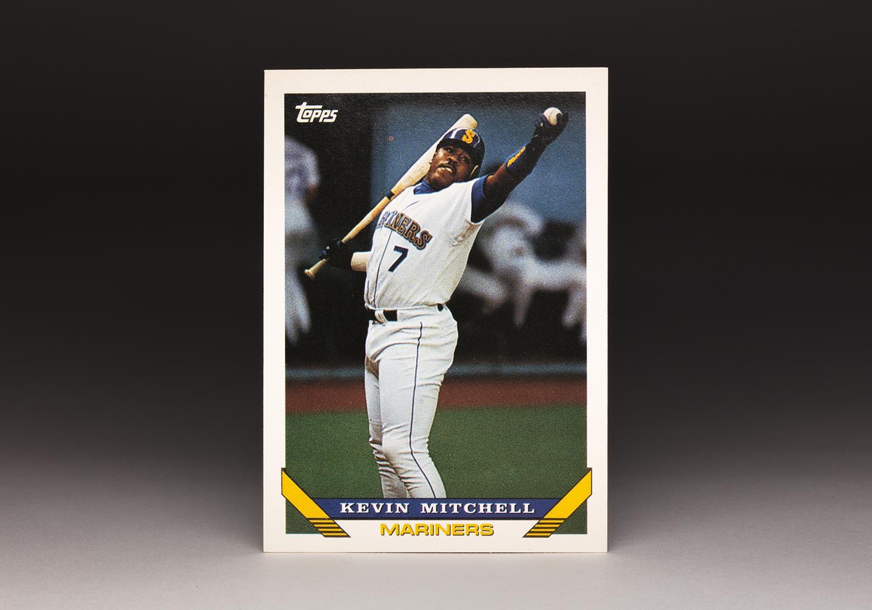 CardCorner: 1993 Topps Kevin Mitchell | Baseball Hall of Fame