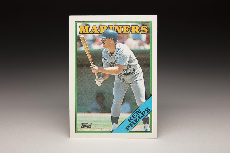 Cardcorner 1988 Topps Ken Phelps Baseball Hall Of Fame