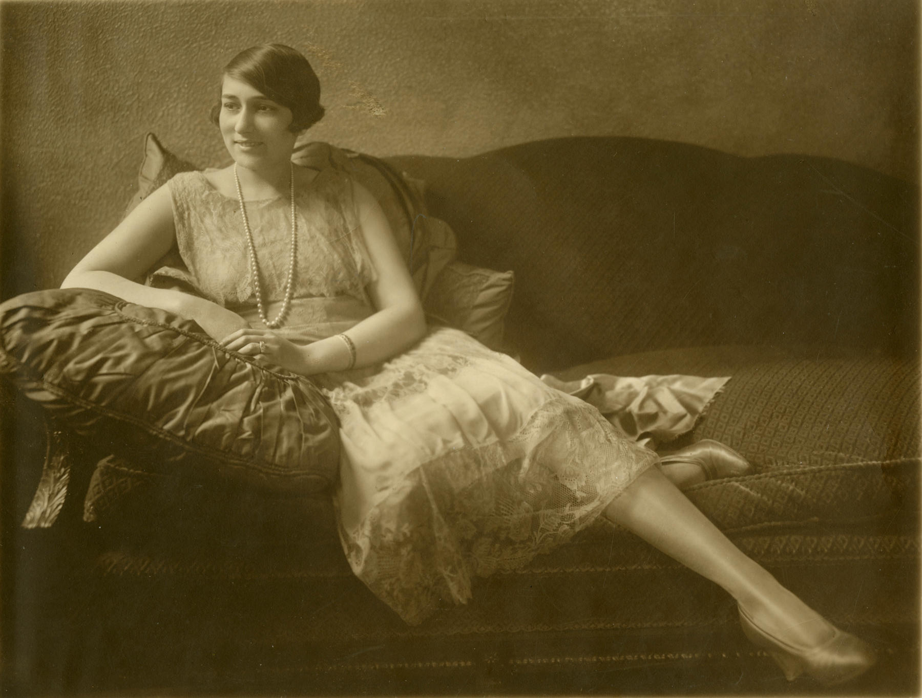 This image of Effa Manley as a 17-year old woman is one of two previously unseen images of the Hall of Fame executive donated to the Museum in 2016 by Manley's great niece Cynthia Kelly Moore. BL-49-2016 (National Baseball Hall of Fame Library)