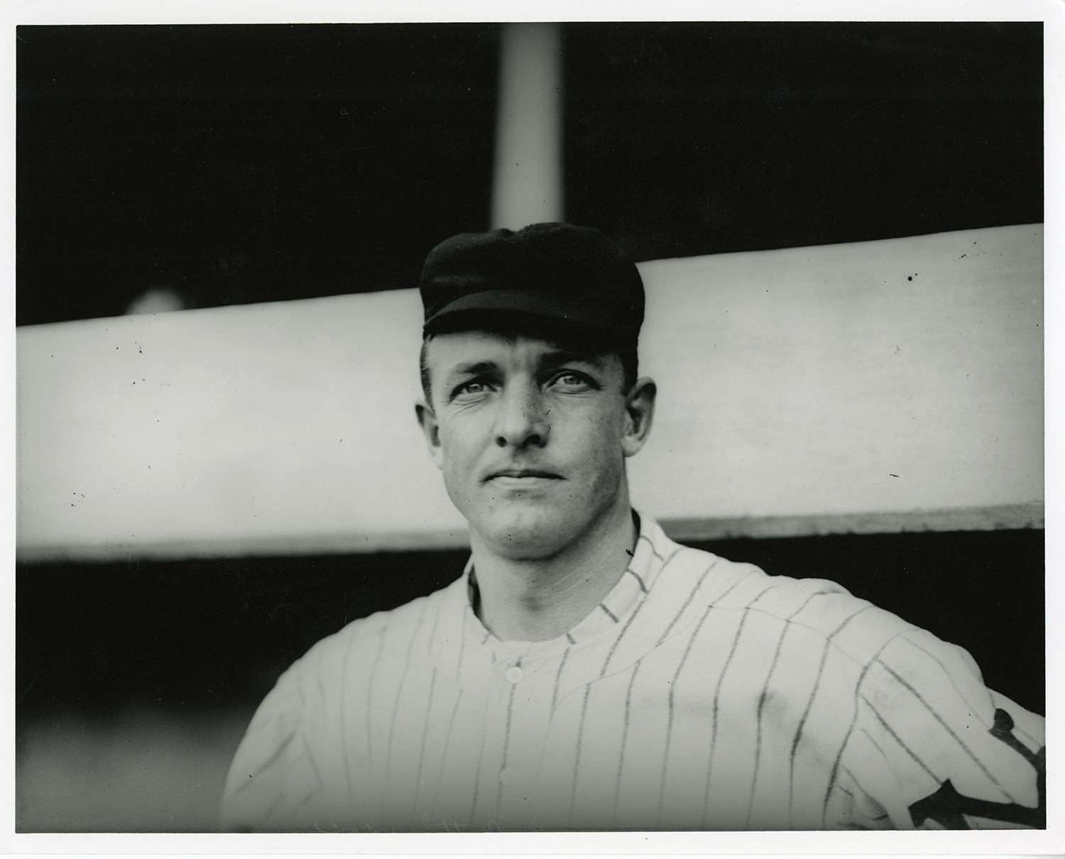 Christy Mathewson was a devout Baptist from an early age, continuing to practice Christianity throughout his professional baseball career. (Charles Conlon / National Baseball Hall of Fame)