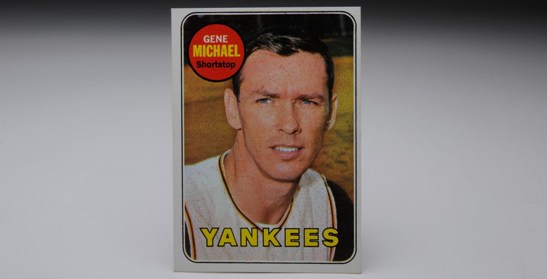 1969 Topps Gene Michael baseball card. (Milo Stewart, Jr. / National Baseball Hall of Fame)