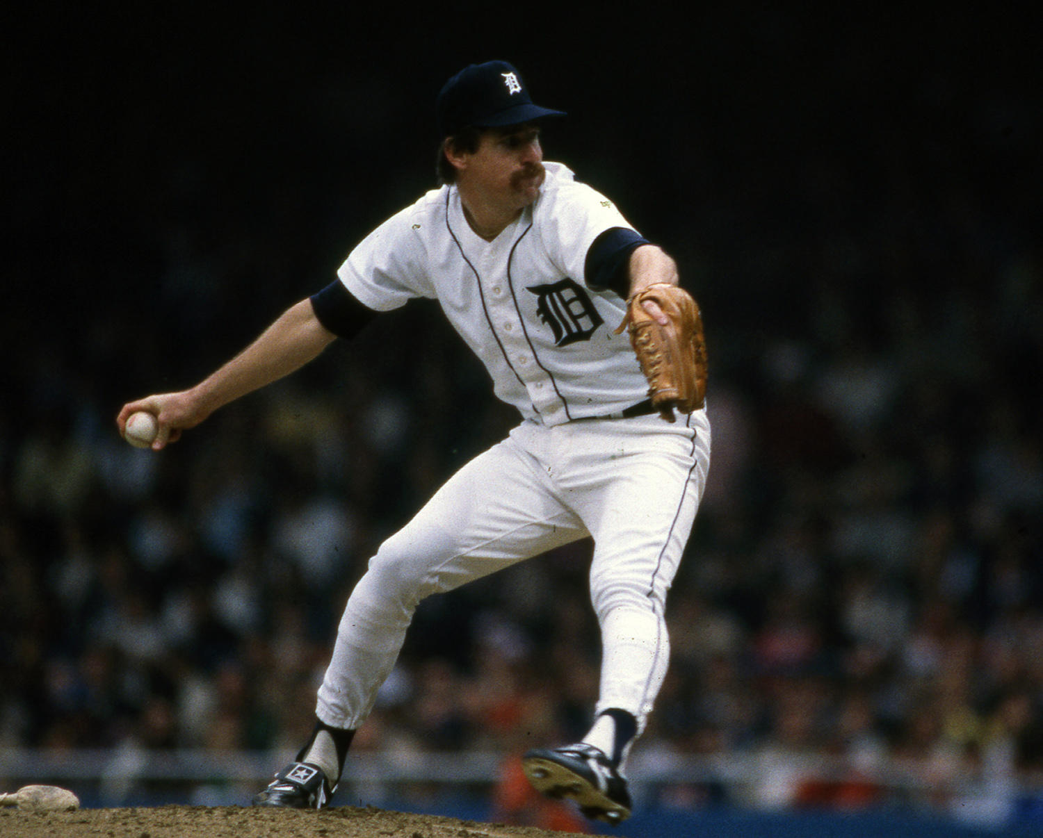 Jack Morris played for the Detroit Tigers from 1977-1990, followed by stints with the Twins (1991), Blue Jays (1992-93) and Indians (1994). (National Baseball Hall of Fame and Museum)