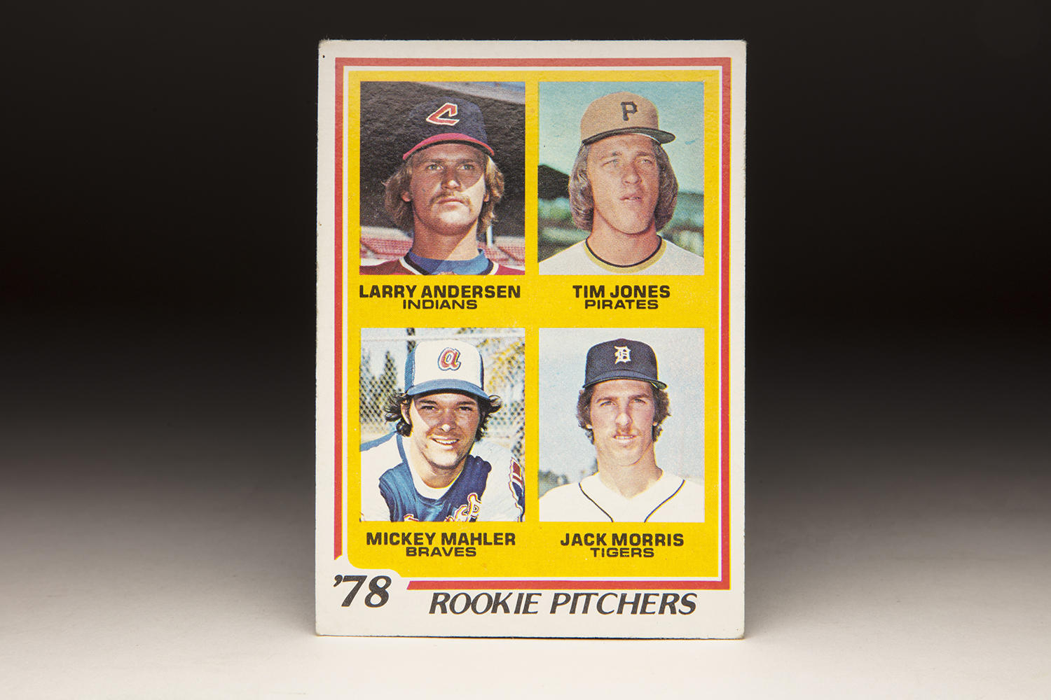 Cardcorner 1978 Topps Rookie Pitchers Baseball Hall Of Fame