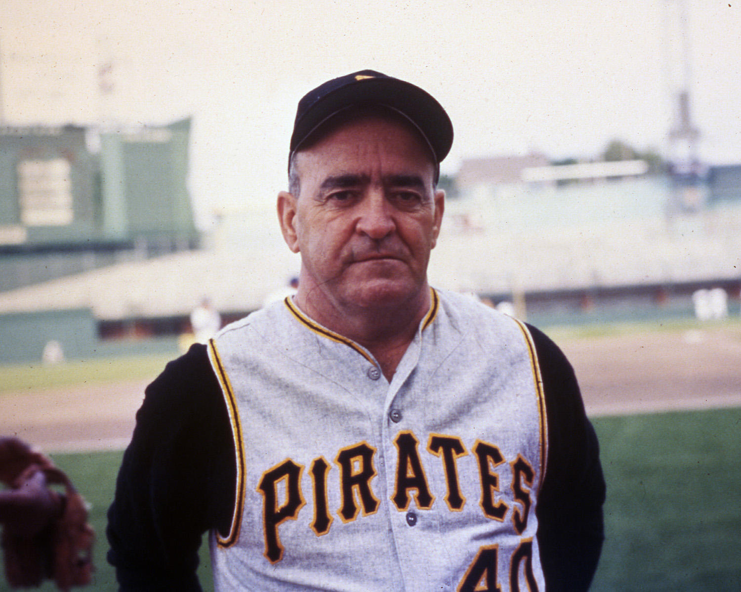 """In Game 3 of the 1971 World Series, Pirates manager Danny Murtaugh called for Bob Robertson to bunt, but Robertson hit a home run instead. After Robertson apologized for the miscommunication, Murtaugh joked, """"Under the circumstances, there will be no fine."""" (National Baseball Hall of Fame and Museum)"""